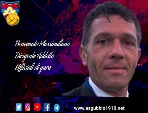 Massimiliano Grilli nuovo addetto ufficiali di gara